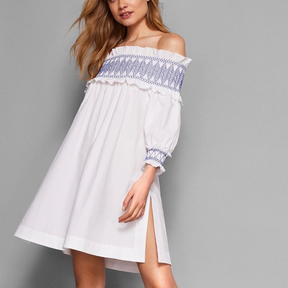 3df98d545f2961 Ted Baker Aysee White Cover Up Dress- ChicEwe